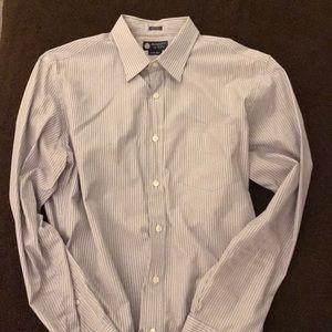 J Crew striped button up dress shirt
